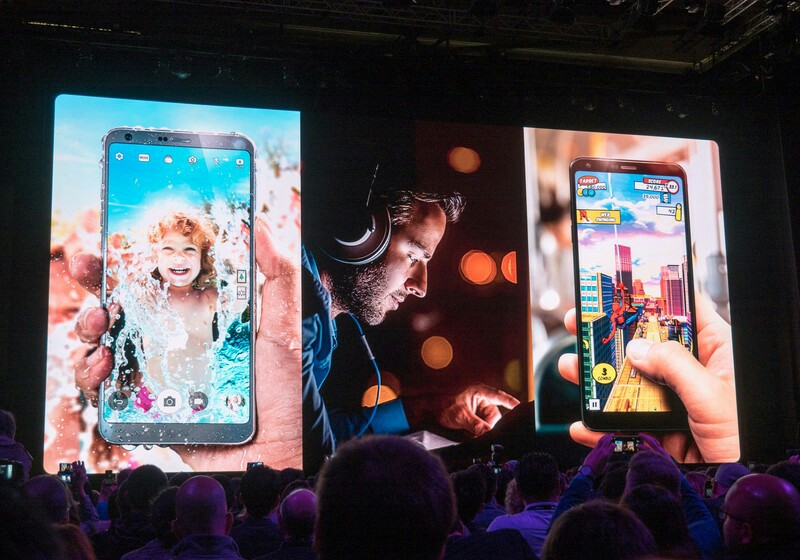 LG G6 officially unveiled at MWC 2017
