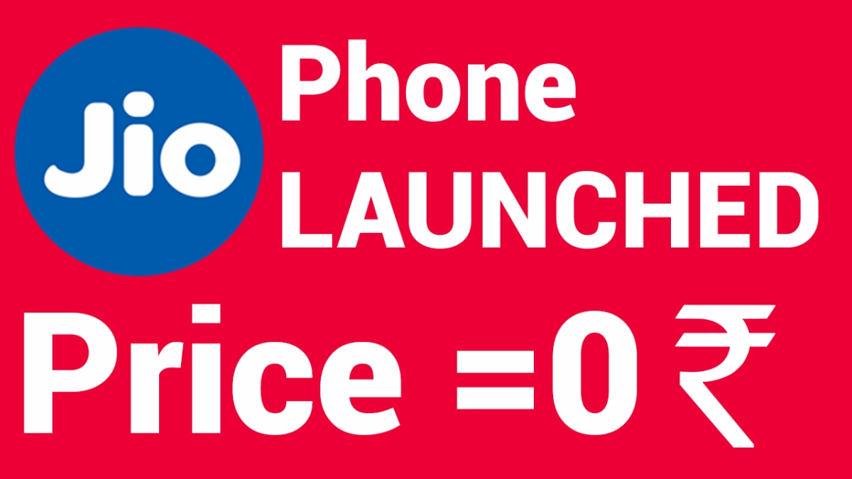 Jio Phone Launched Price, Features and more | Reliance Volte freature phone